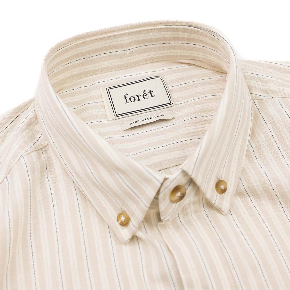 forét Map Shirt - Khaki