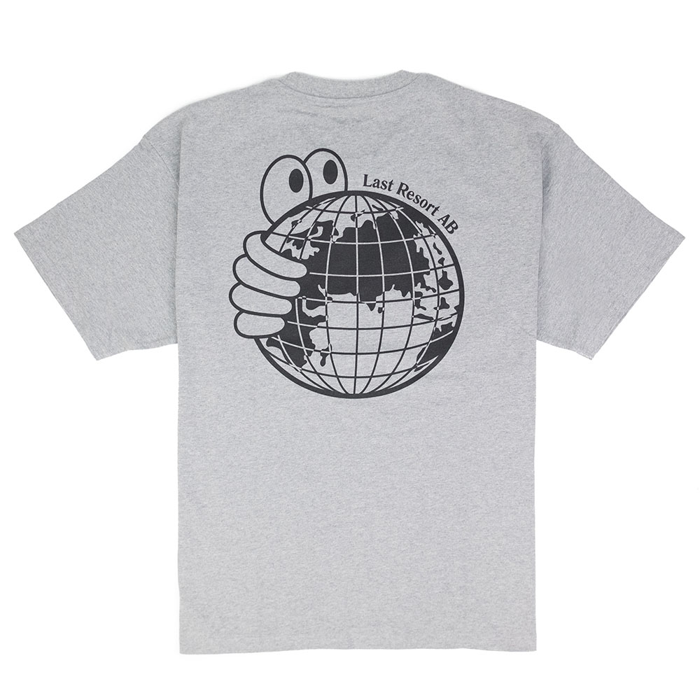 Last Resort AB World Tee - Heather Grey