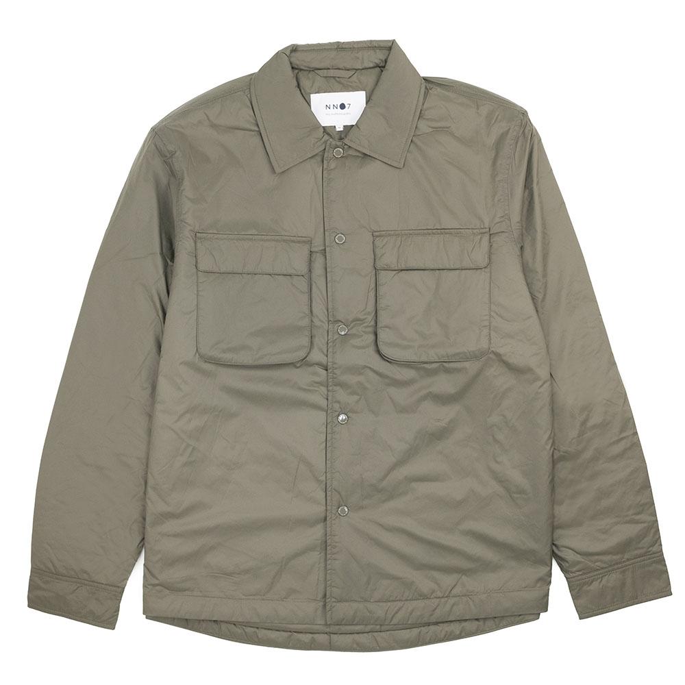NN07 Columbo Overshirt - Army
