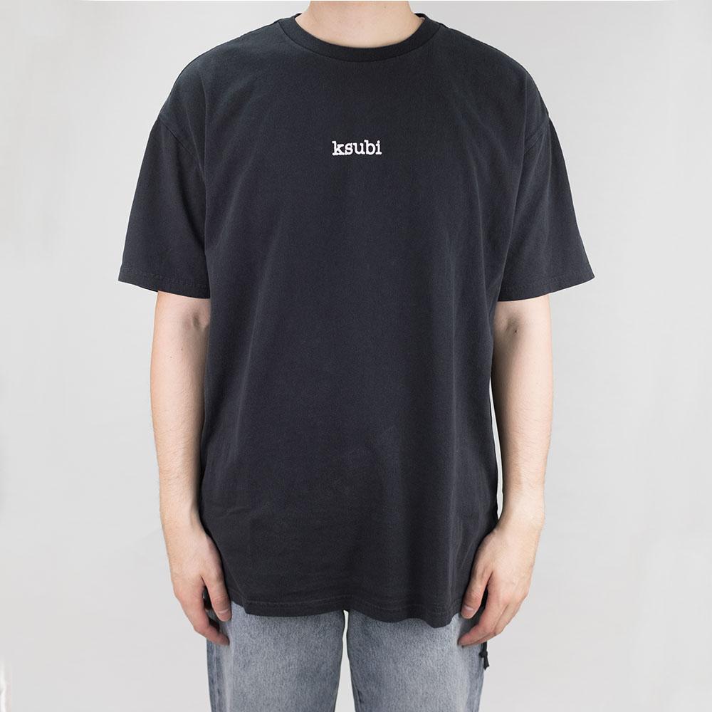 Ksubi Bright Dream Biggie Short Sleeve Tee - Jet Black