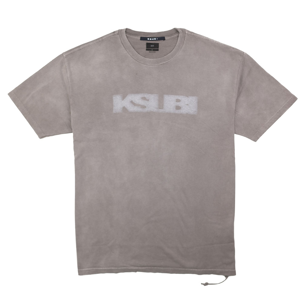 Ksubi Sign Of The Times Drifter Short Sleeve Tee - Grey