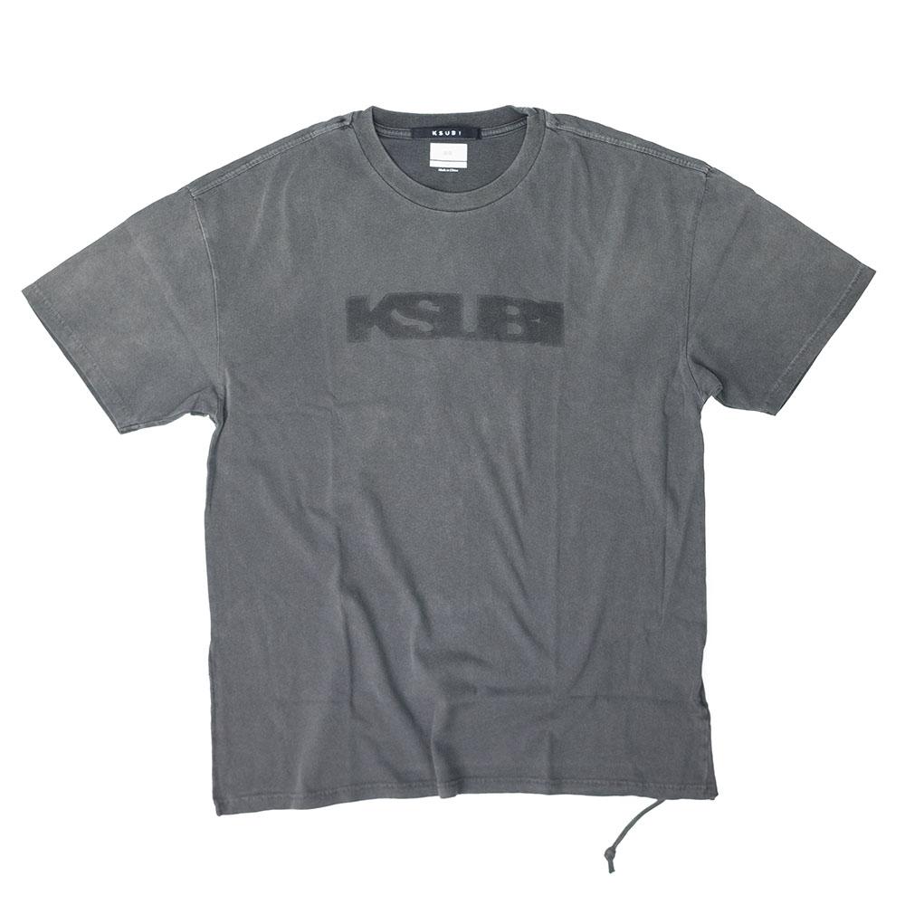 Ksubi Sign Of The Times Rapture Short Sleeve Tee - Washed Black