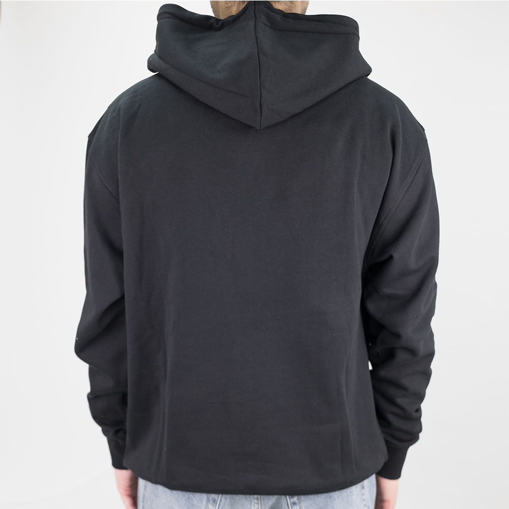 Thrasher (Japan) Flame Patriot Hooded Sweatshirt - Black 3