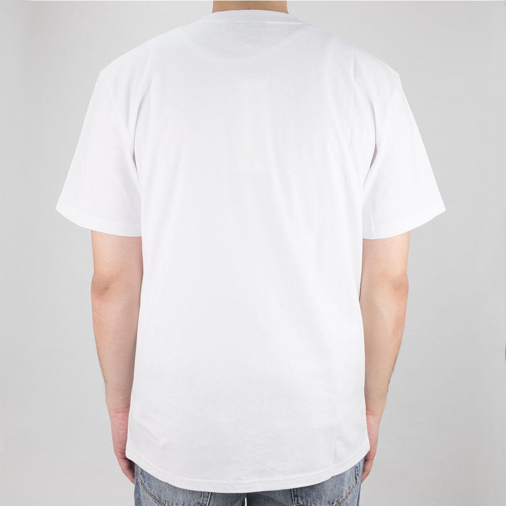 Thrasher (Japan) Flame Patriot S-S T-Shirt - White 3