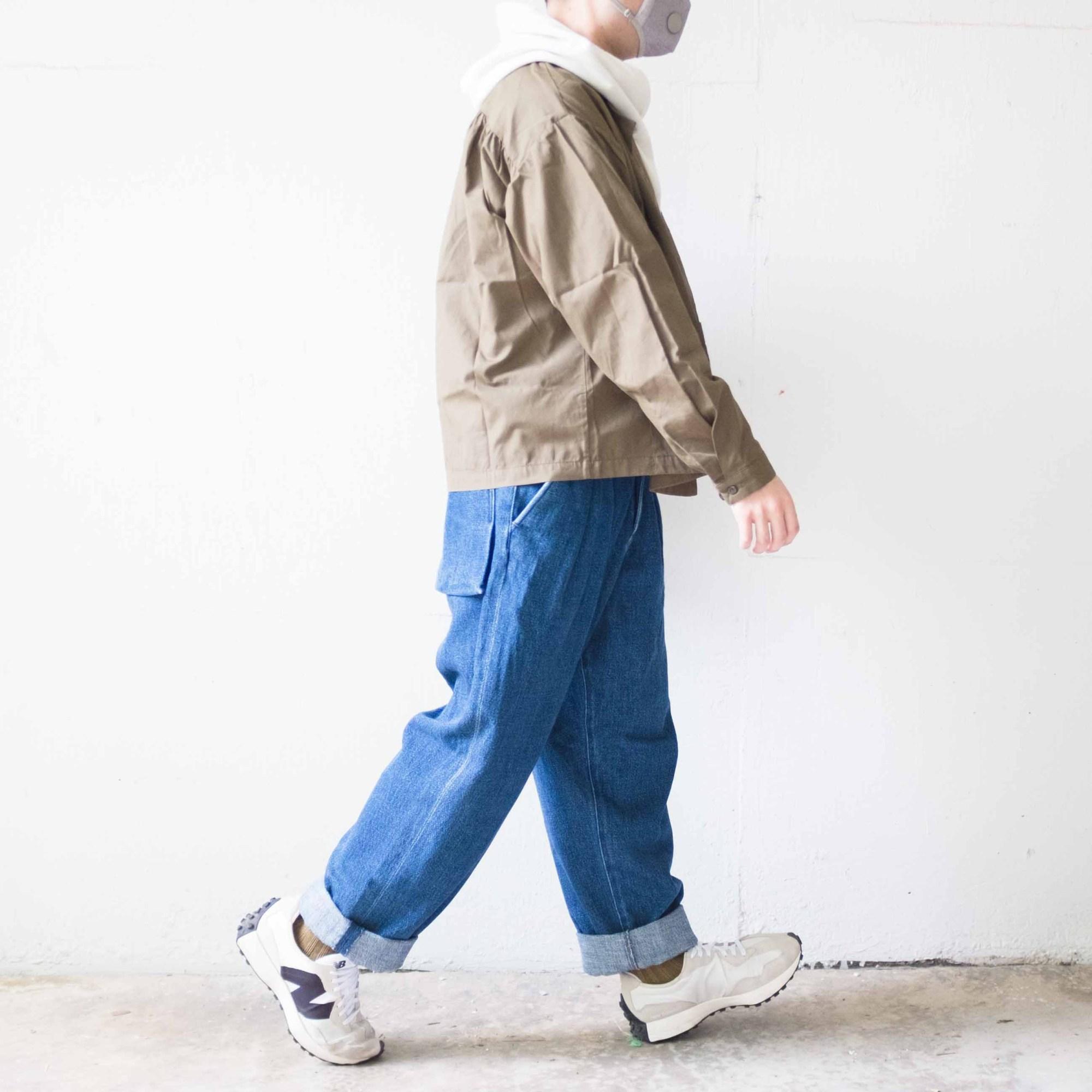 Monitaly field jacket x Kuro wide trousers