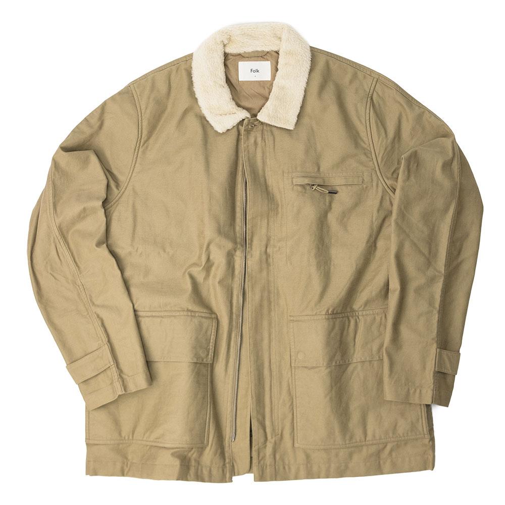 Folk Alber Jacket - Tan