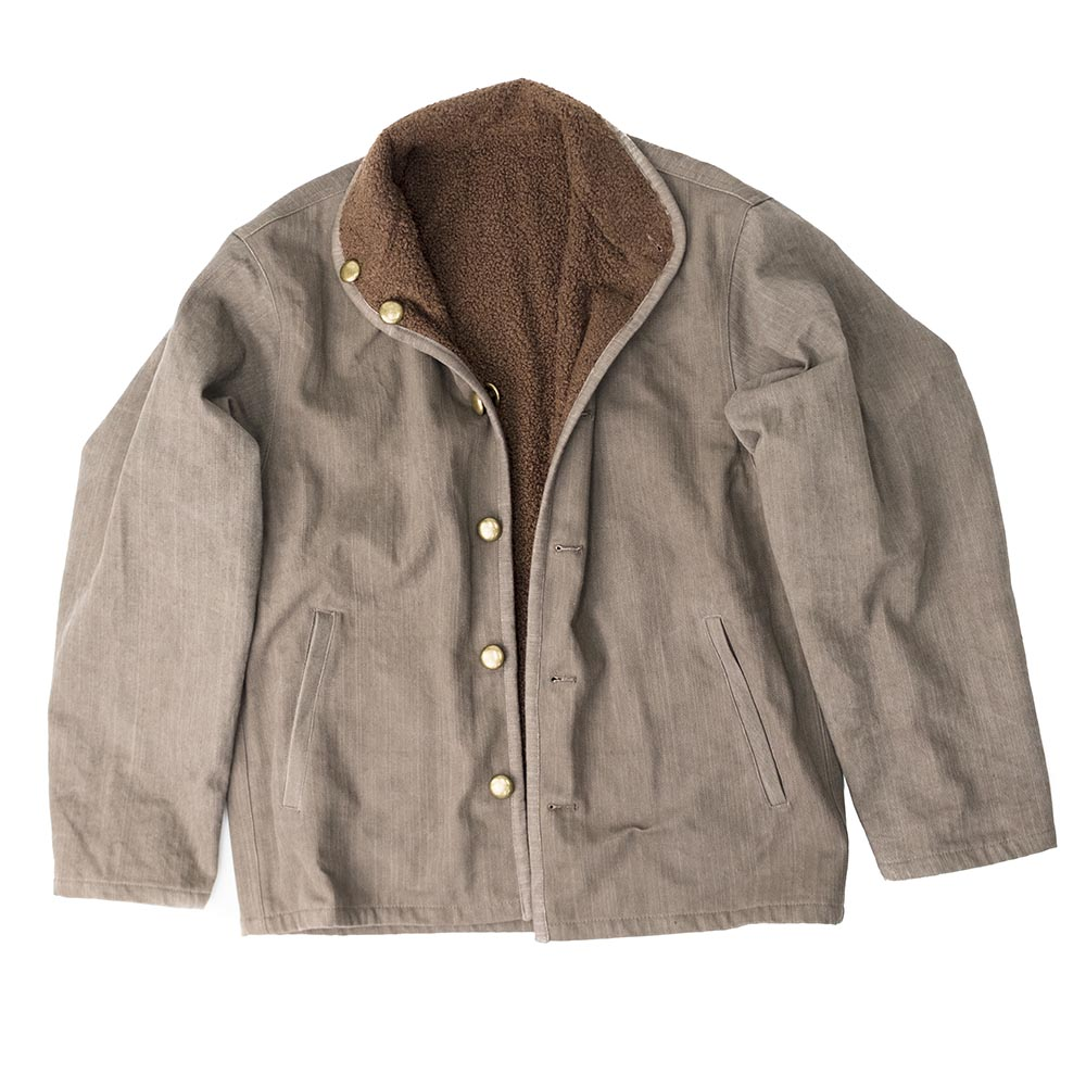 Taproot Hand Dyed Reversible Jacket - Khaki