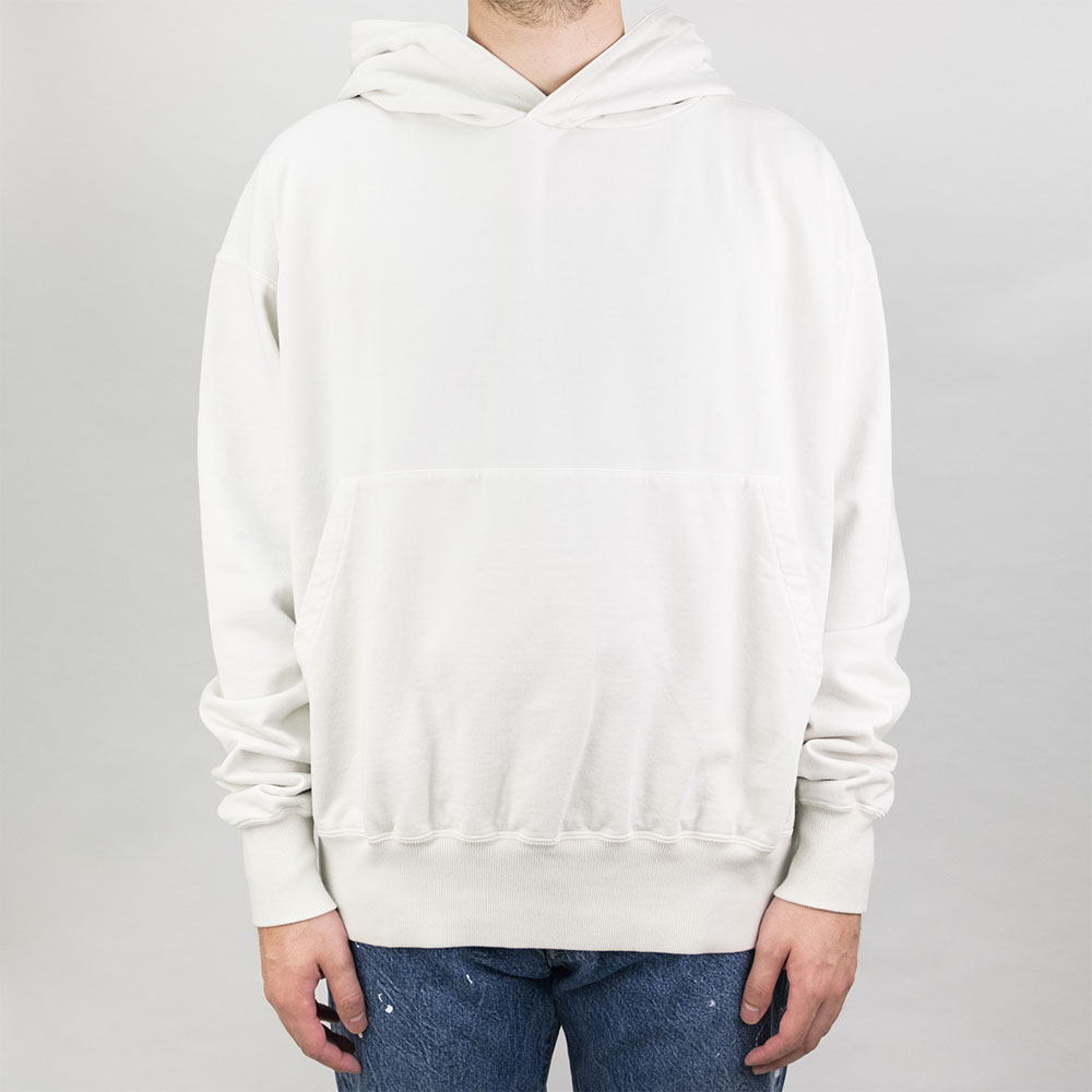 Kuro Sulfur Dyed Giza Suvin Pullover - Off White