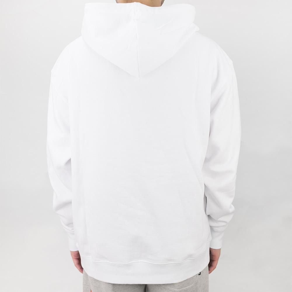Thrasher (Japan) Reburn Flame Hooded Sweatshirt - White