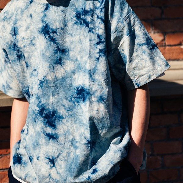 taproot tie dyed tee