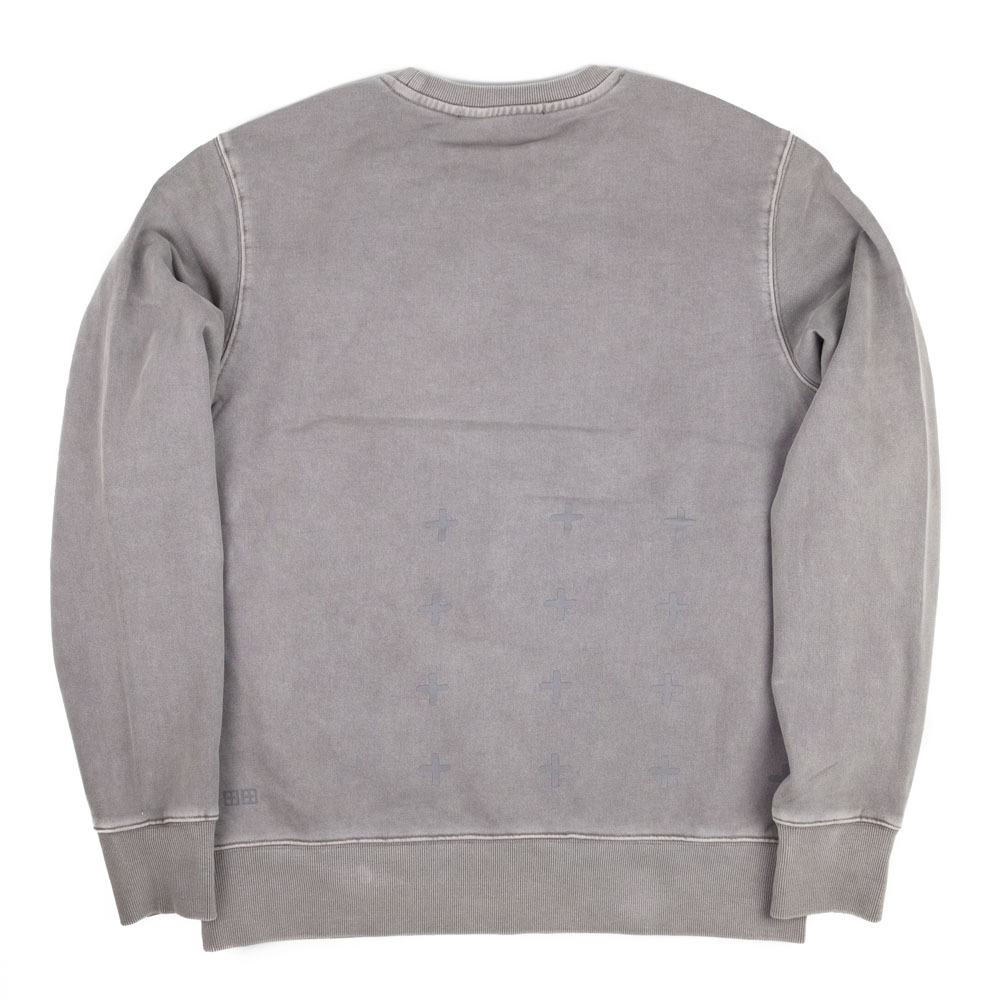 Ksubi Cross Logo Crewneck