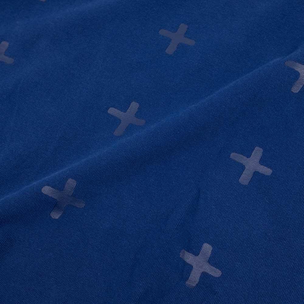 Ksubi Cross Logo Short Sleeve Tee - Blue
