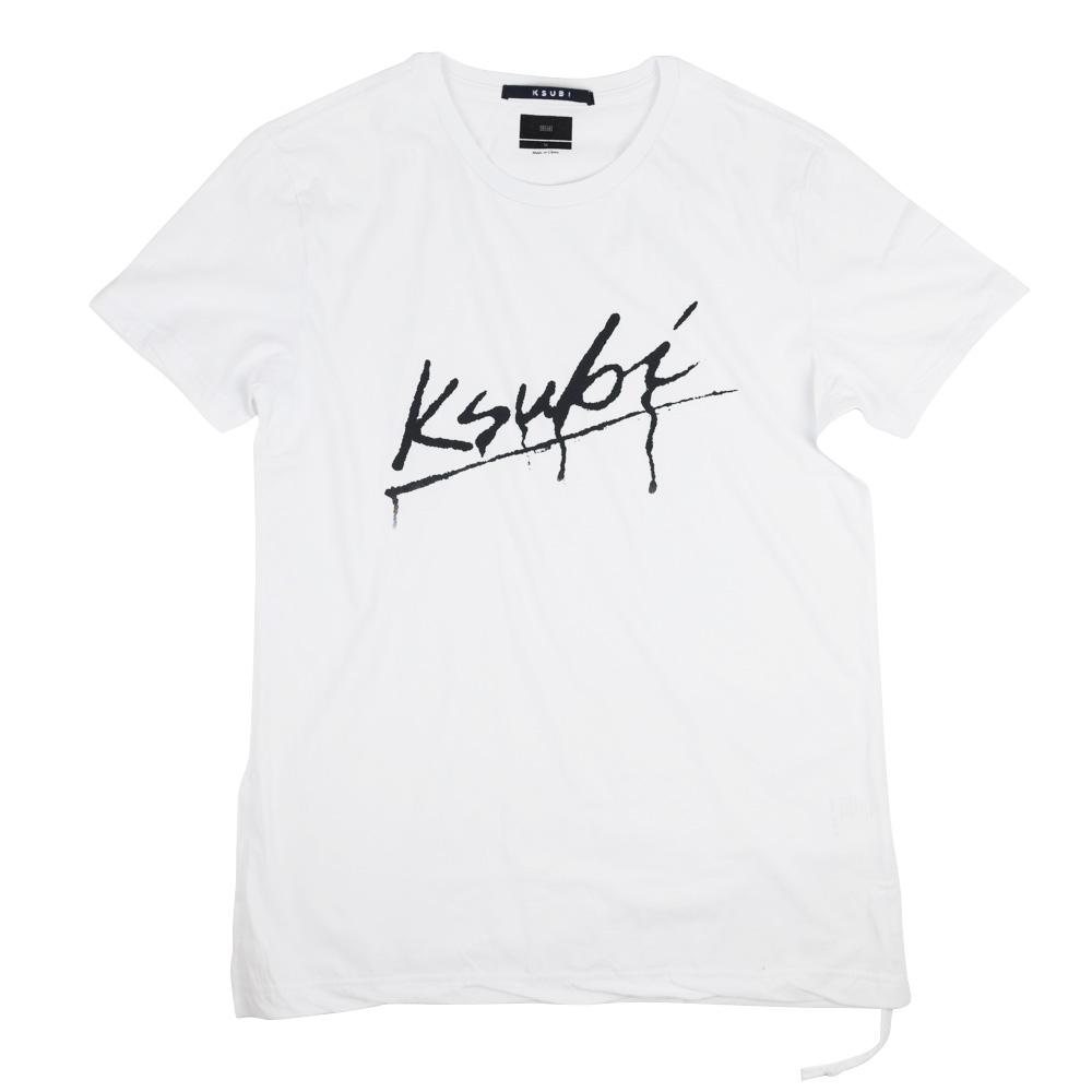 Ksubi Drip Short Sleeve Tee - White