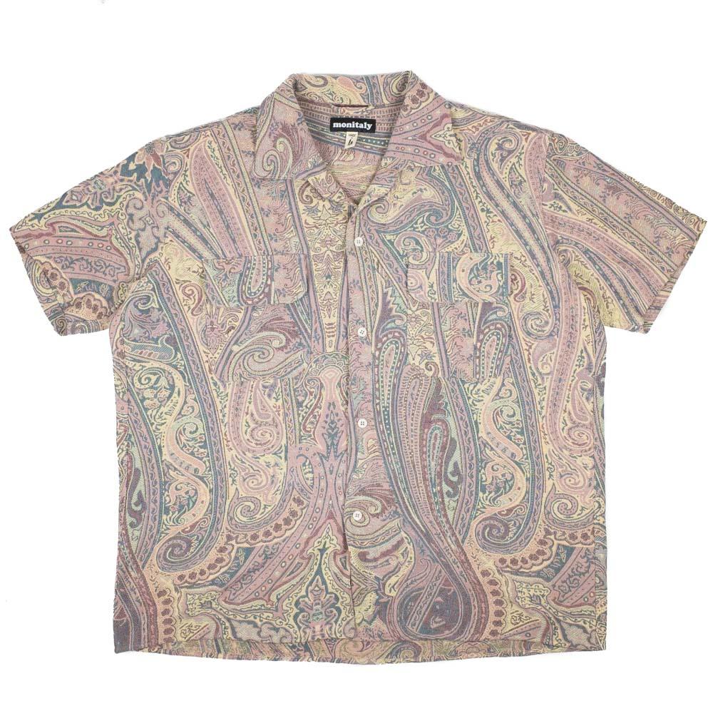 Monitaly S/S 50's Milano Shirt - BETRO Paisley