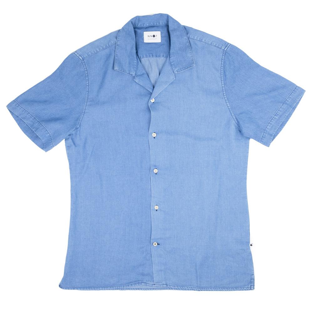 NN07 Miyagi Shirt - Light Blue
