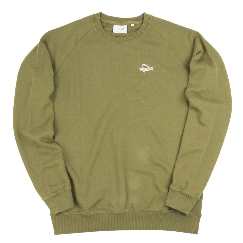 forét ROD Sweatshirt - Dark Olive