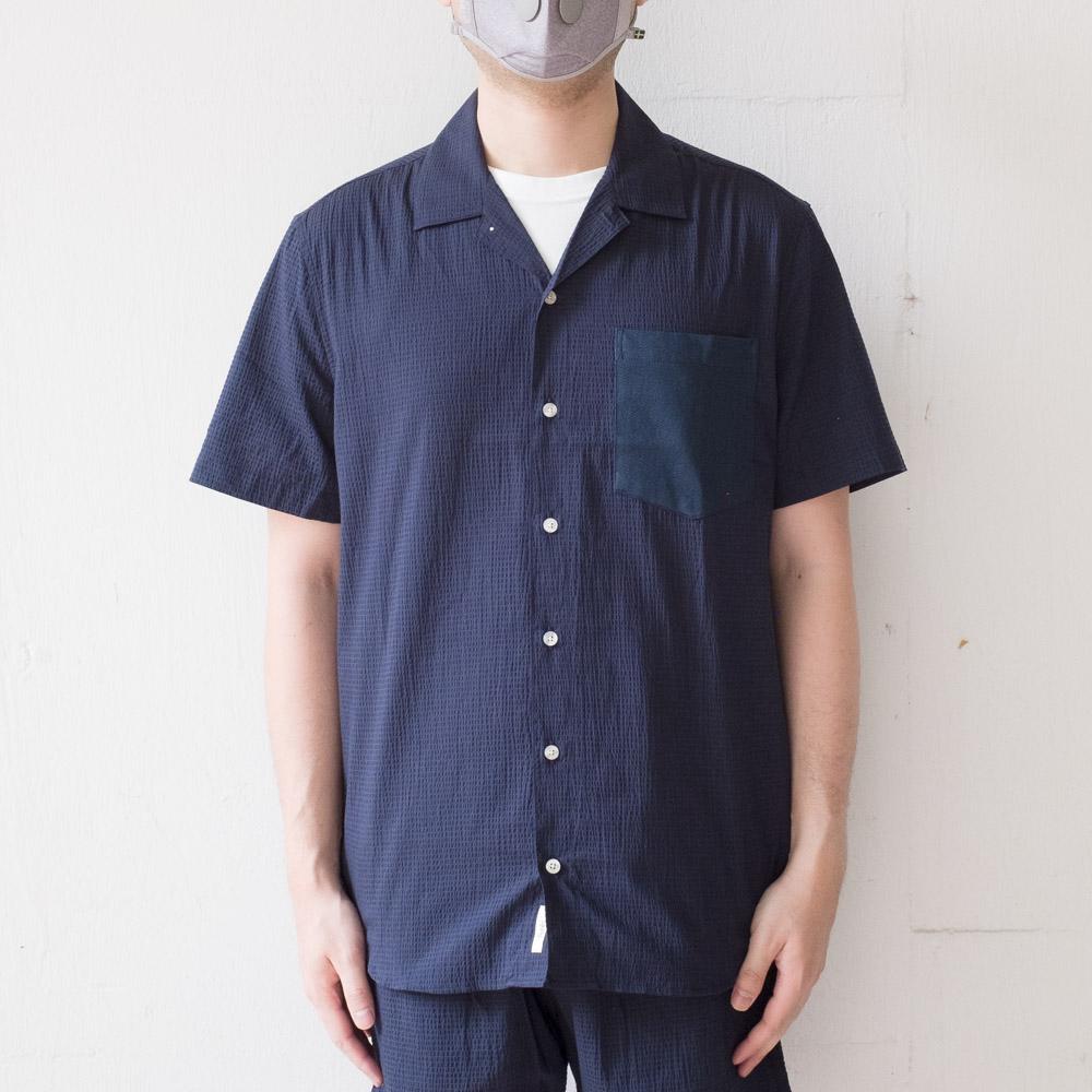 forét Duck Shirts - Navy