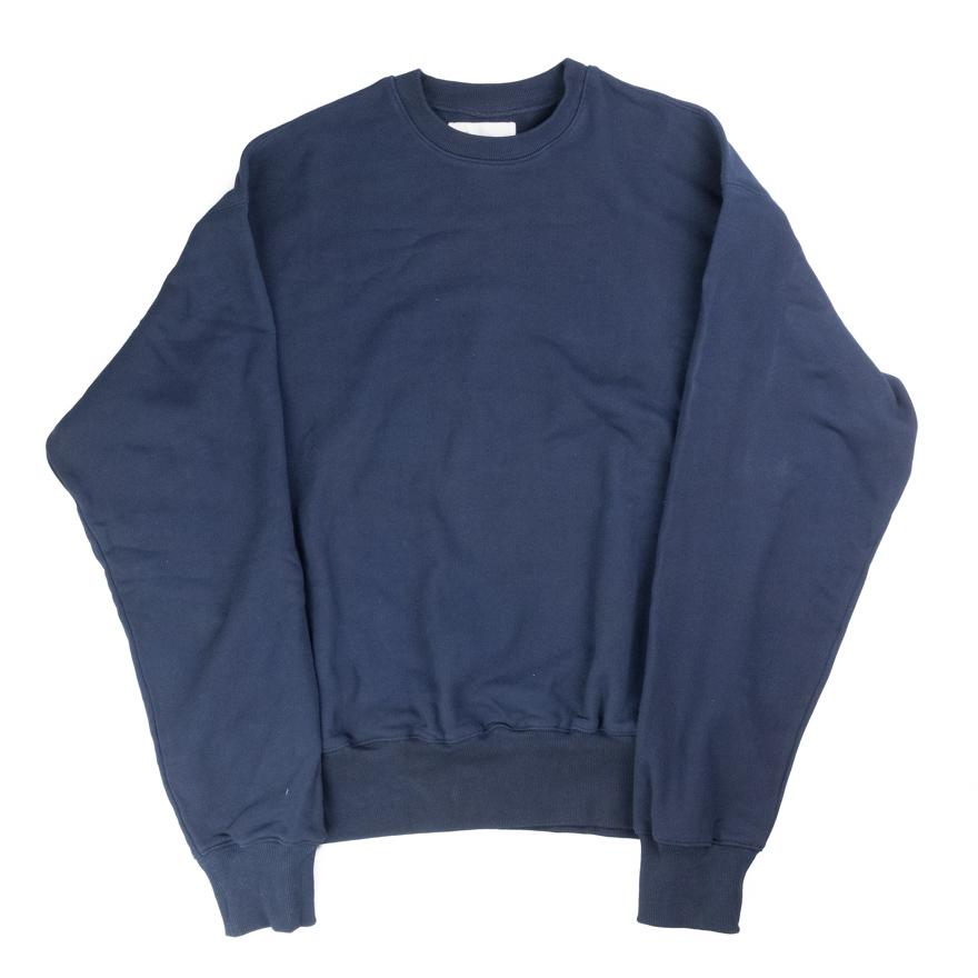 Taproot Hand Dyed Sweatshirt - Deep Indigo