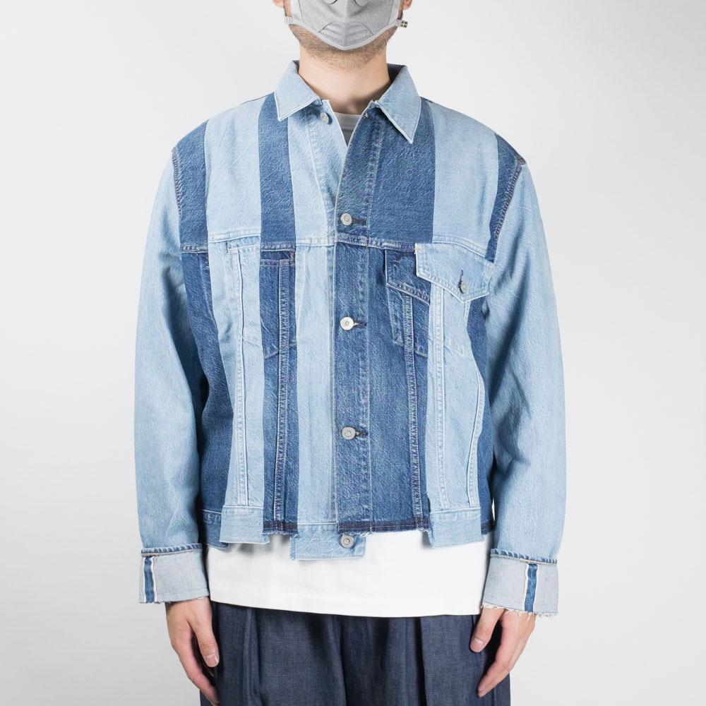 Kuro Remake Denim Mark V jacket - Indigo