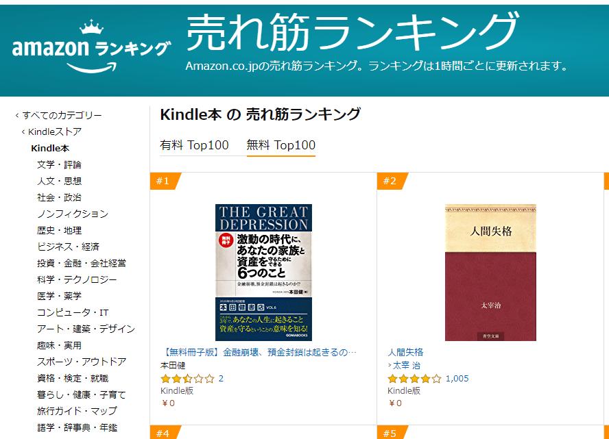 知ってる?Amazon Kindleで無料本を読もう【画像解説!】