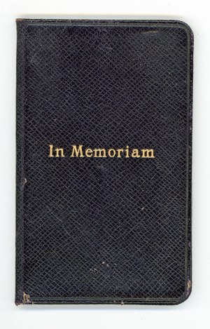 In Memoriam: The Order for the Burial of the Dead