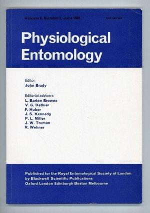 Physiological Entomology Volume 6, Number 2, June 1981