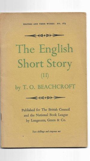 The English Short Story (II)