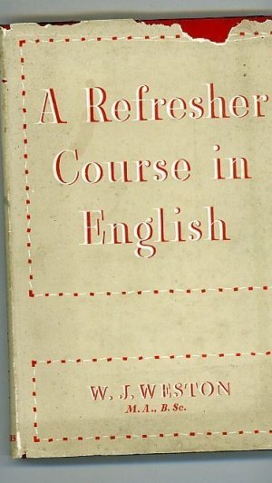 A Refresher Course in English