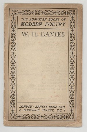 The Augustan Books of Modern Poetry. W. H. Davies