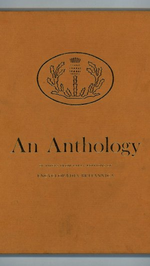 An Anthology of Pieces from Earlier Editions of Enclycopaedia Britannica