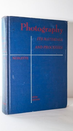 Photography Its Materials and Processes