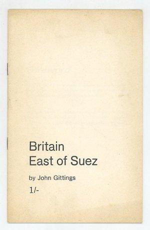 Britain East of Suez