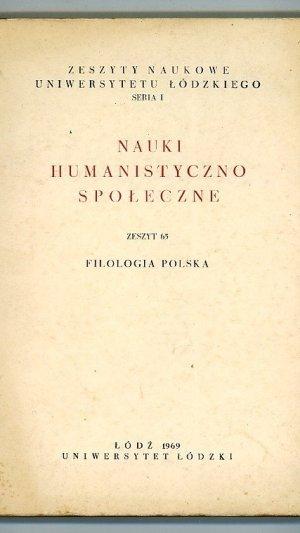 Nauki humanistyczno spoleczne