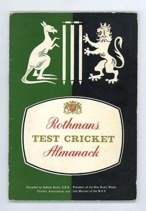 Rothmans Test Cricket Almanack