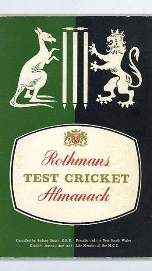 Rothmans Test Cricket Almanack