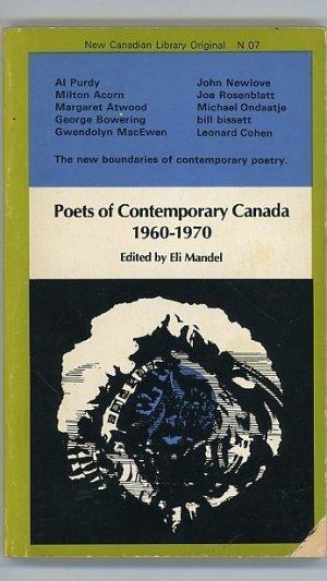 Poets of Contemporary Canada 1960-1970