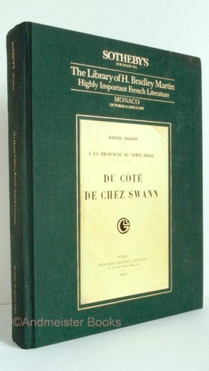 The Library of H. Bradley Martin. Highly Important French Literature Monaco October 16 and 17, 1989
