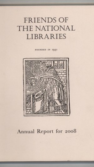 Friends of the National Libraries Annual Report for 2008