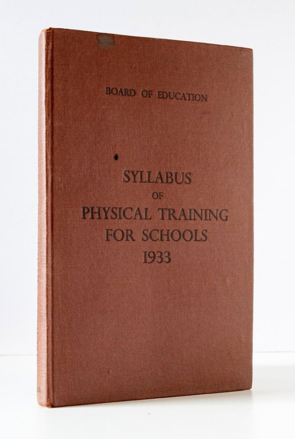 Syllabus of Physical Training for Schools