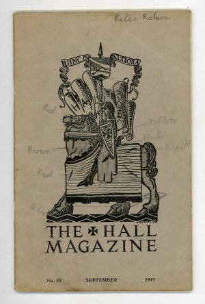 The Hall Magazine Number Eighty-Eight September 1945
