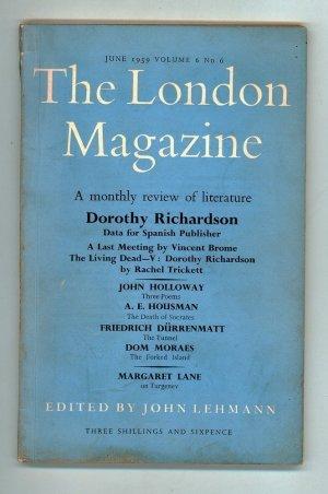 The London Magazine June 1959 Volume 6 No 6