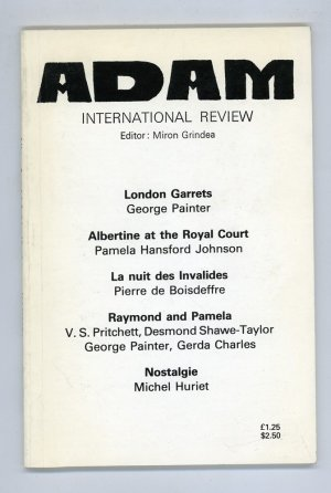 Adam International Review Nos. 440-442.