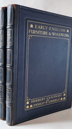 Early English Furniture & Woodwork Vol.1 & 2