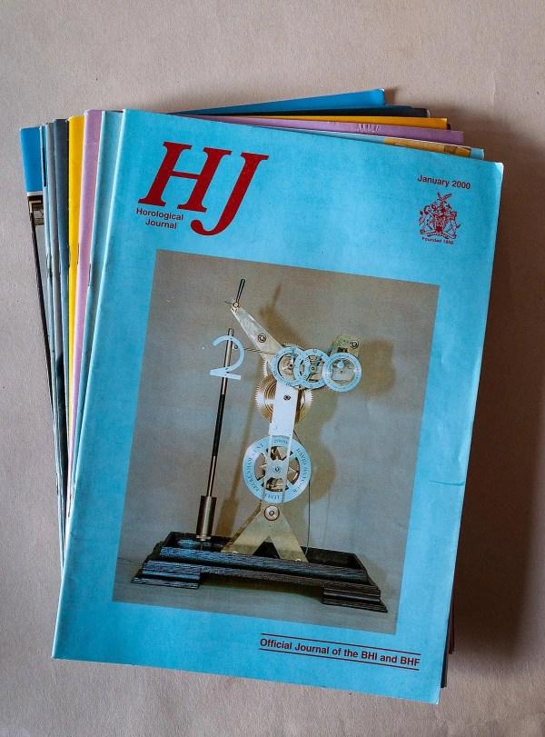 Horological Journal January-December 2000