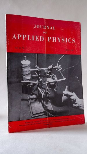 Journal of Applied Physics Vol. 18, No. 7  July, 1947