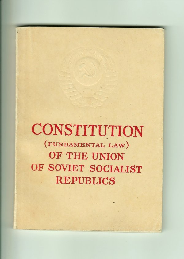 Constitution (Fundamental Law) of the Union of Soviet Socialist Republics