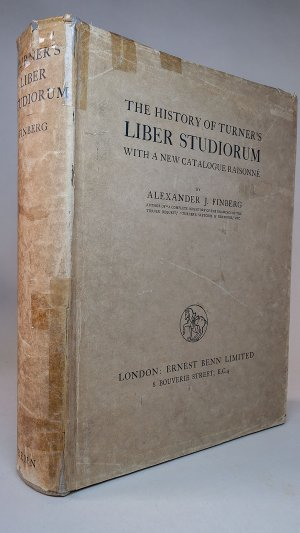 The History of Turner's Liber Studiorum with a new catalogue raisonné