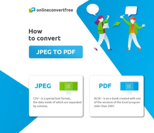 how to convert JPEG to PDF