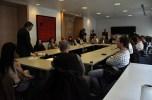 Reunió amb treballadors de l'STA.