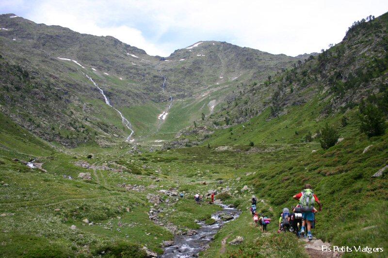 Pla de l'estany a les Valls del Comapedrosa